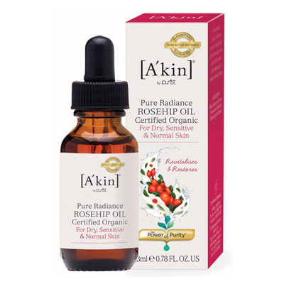 A'Kin Pure Radiance Certified Organic Rosehip Oil