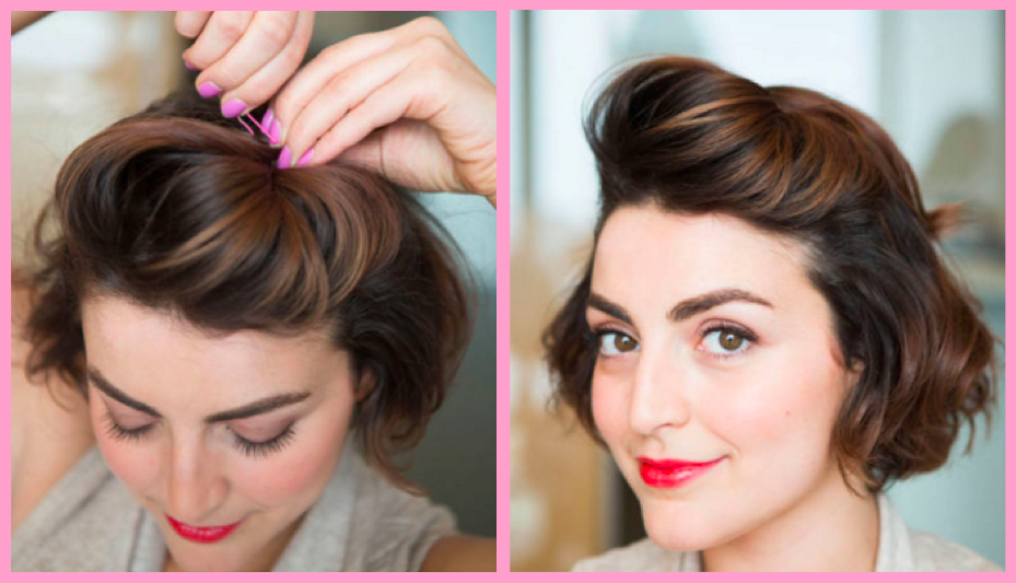 4 Easy-As Hairstyles for New Mums Quiff How To