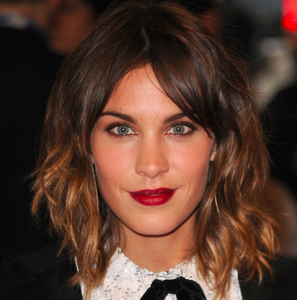 Alexa Chung natural texture wave 2016's Hottest Hair Trends