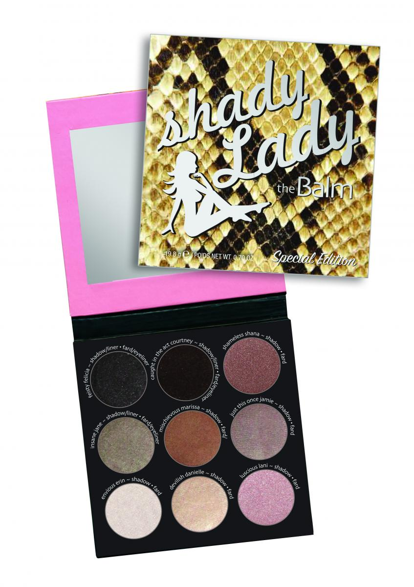 TheBalm Shadylady Palette V4. Special Edition
