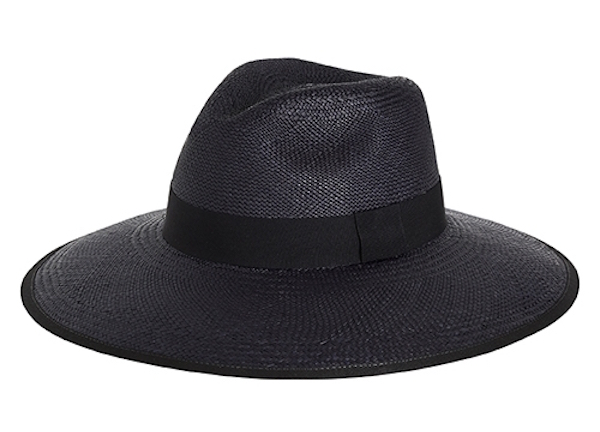 'Always In Style' Navy hat with black ribbon
