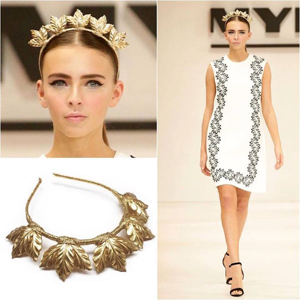 Spring Festival Hand Crafted Hair Piece 'KAILA' Crown