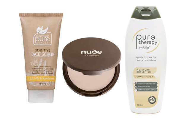 Australian Pure, Beauty Scrub Natural Beauty Nude By Nature Mineral Makeup Powder Pure Therapy Moisture Replenish