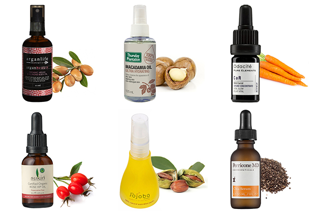 Beauty Oils Skin Natural Argan Coconut Carrot Avacado Chia Jojoba Rosehip Macadamia