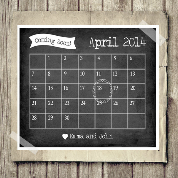 Creative Ways to Announce Your Pregnancy Baby Ideas Inspiration Calander