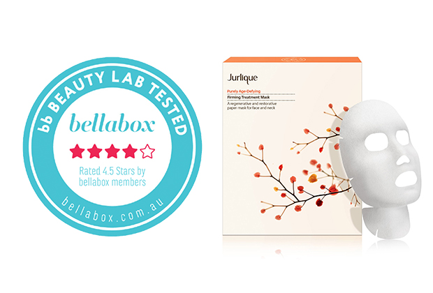 The bb BEAUTY LAB Reviews Jurlique Purely Age-Defying Firming Treatment Mask