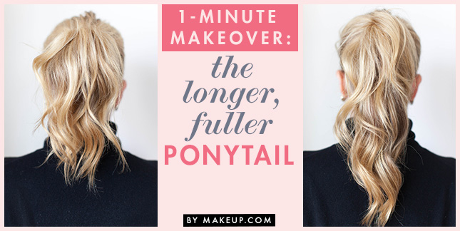 Longer Fuller Ponytail 4 Easy-As Hairstyles for New Mums